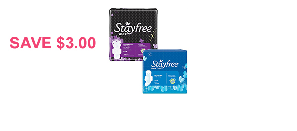 Stayfree® Product