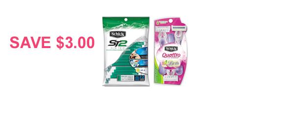 Schick® Disposable Razor Pack