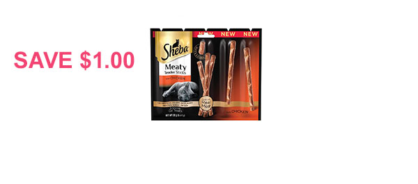 SHEBA® Meaty Tender Sticks