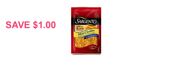 Sargento® Shredded Natural Cheese