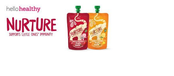 Nurture Fruity Water+