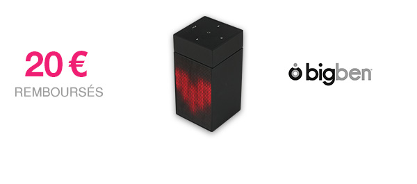 Enceinte lumineuse Bluetooth BT 12