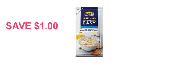 BUSH'S Hummus Made Easy®