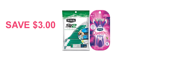 Schick® Disposable Razor Pack