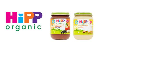 NEW HiPP Organic jars