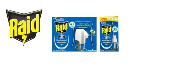 RAID® Anti-Moustiques