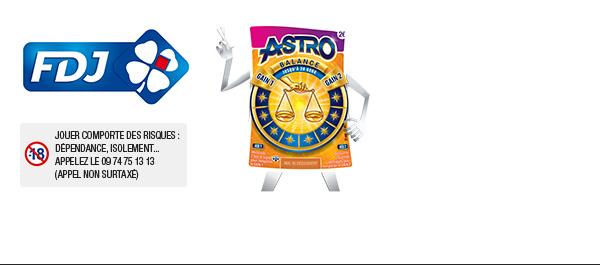 Ticket à gratter ASTRO illiko®