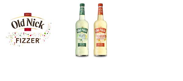 Cocktails pétillants Old Nick Fizzer