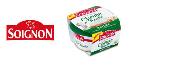 Les fromages de chèvre fouettés Soignon