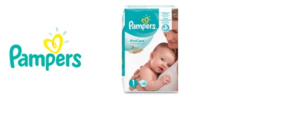 Les couches Pampers