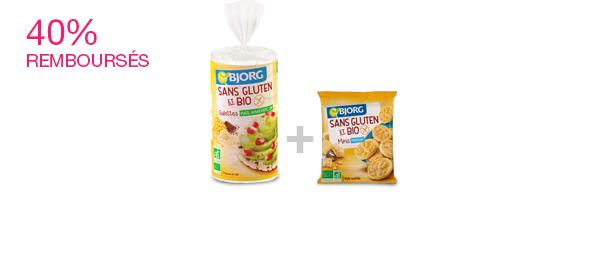 La gamme Bjorg Sans Gluten