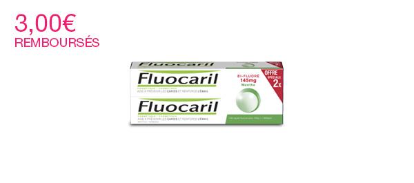 Lot de 2 Fluocaril Bi-Fluoré 145mg