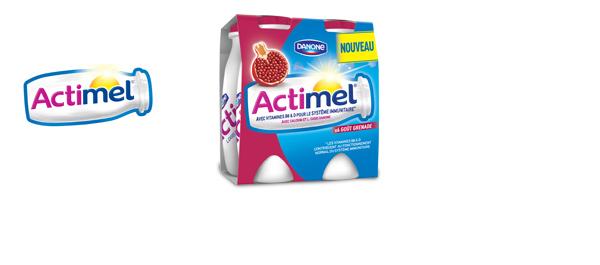 La gamme Actimel
