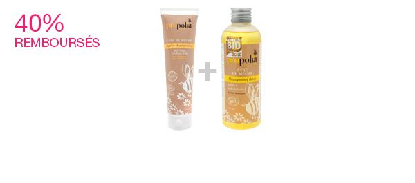 Shampooing et après-shampooing