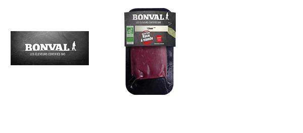 La viande Bio par Bonval