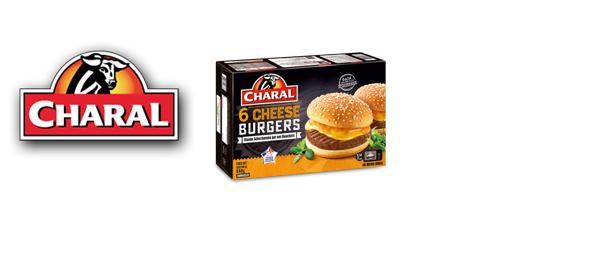 Découvrez les burgers surgelés Charal
