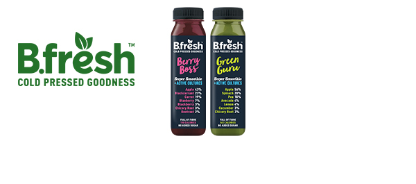 B.fresh Super Smoothies + Active Cultures