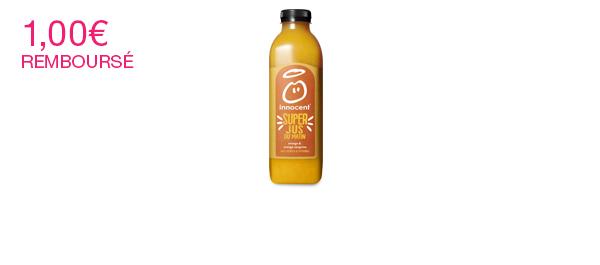 Super jus orange & orange sanguine