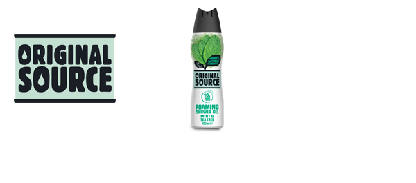 Original Source New Foaming Shower Gel