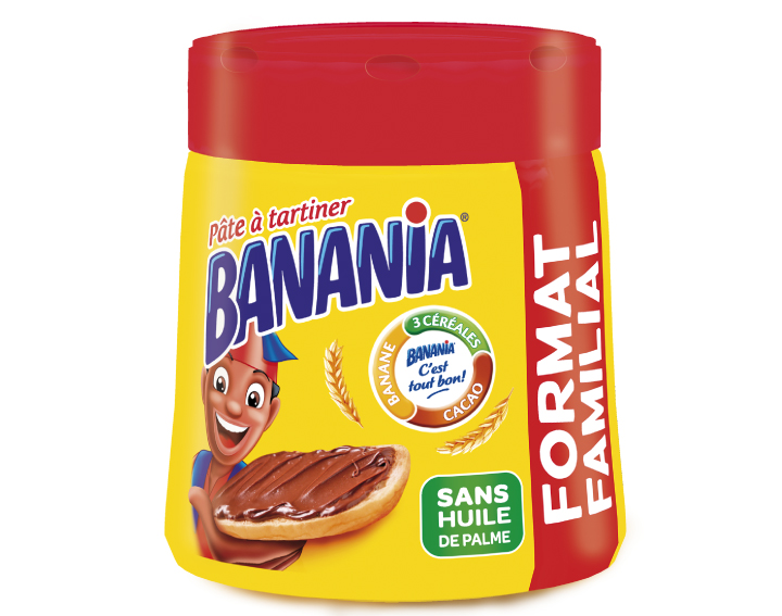 Pâte à tartiner Banania Format Familial 600g