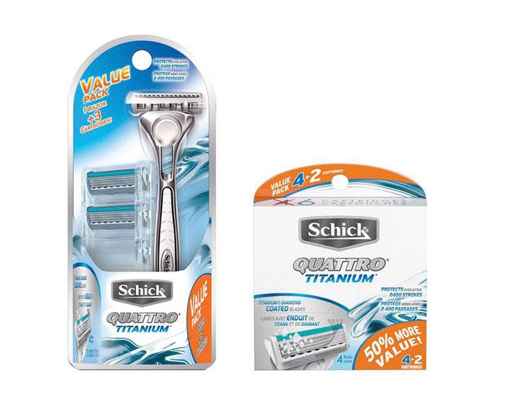 Schick® Quattro® for Men