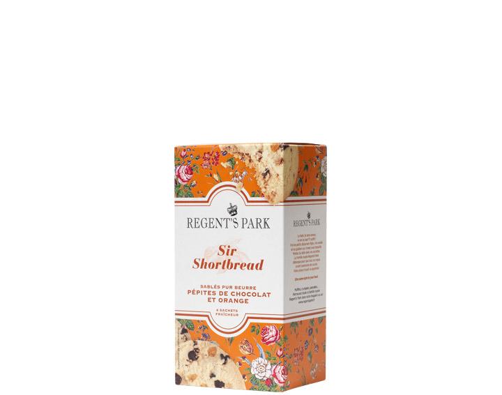 Sir Shortbread Chocolat et Orange : Nouveauté 2017