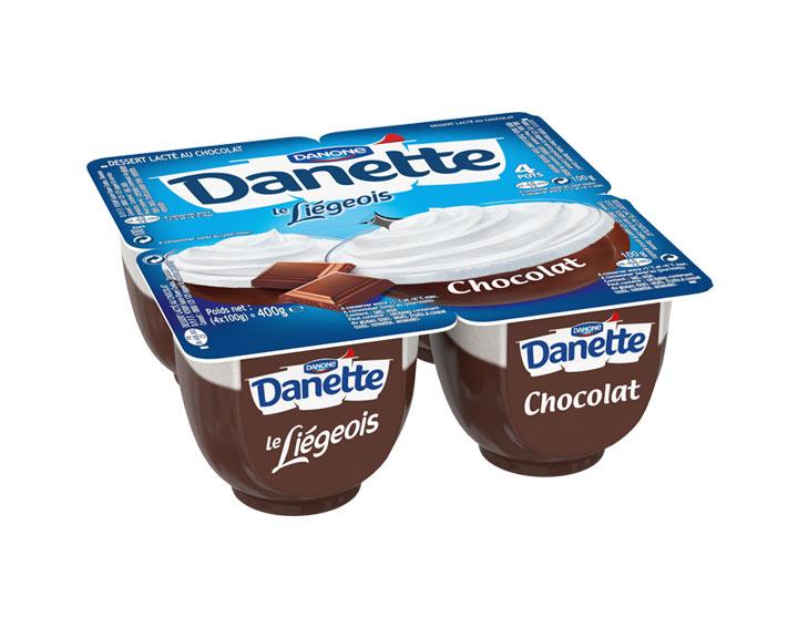 Danette le Liégeois Chocolat