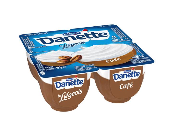 Danette le Liégeois Café