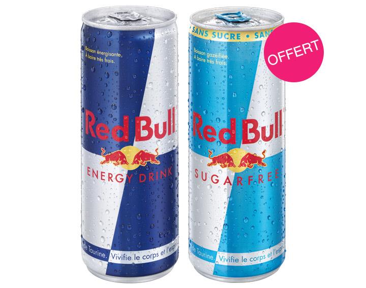1 Red Bull acheté = 1 offert