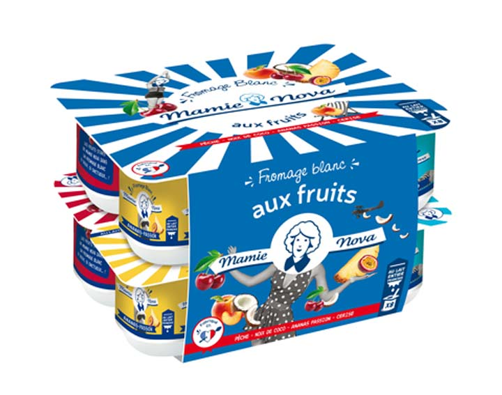 Fromage blanc aux Fruits x8