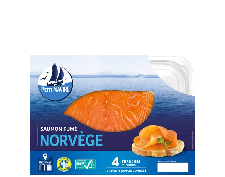 Saumon fumé de Norvège ASC