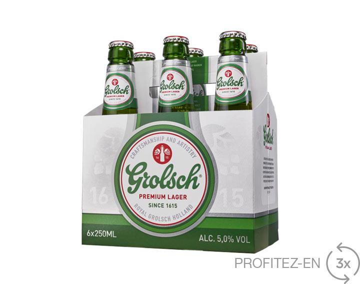 Grolsch - Pack de 6x25cl