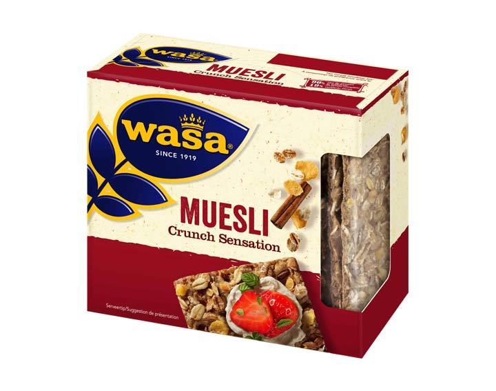 Wasa Crunch Sensation Muesli 220g