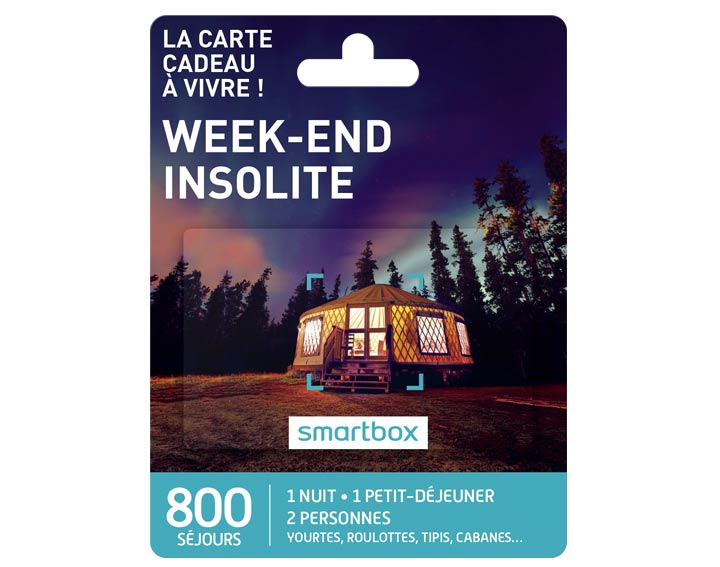 Weekend insolite (69,90€)