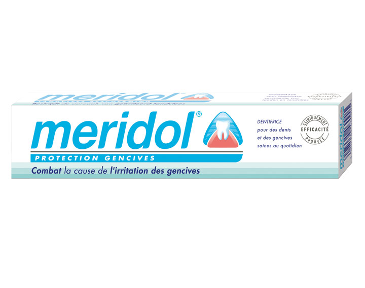 Dentifrice meridol® Protection gencives