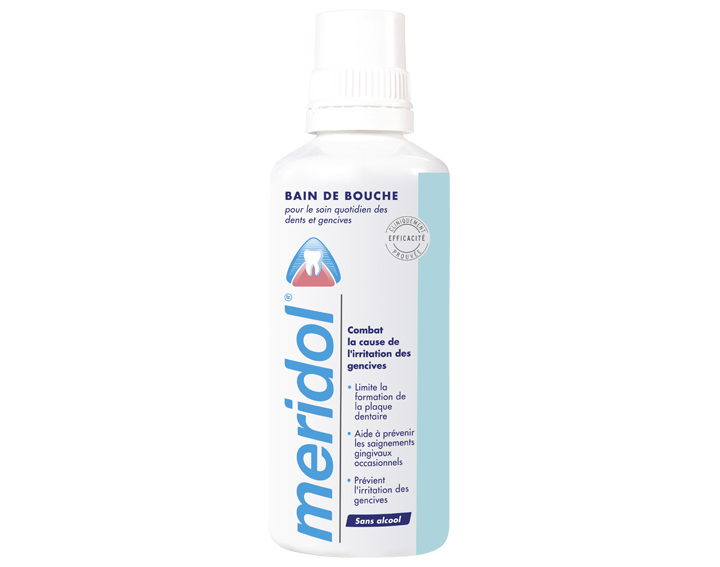 Bain de bouche meridol® Protection gencives