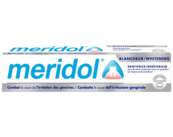 Dentifrice meridol® Protection gencives Blancheur