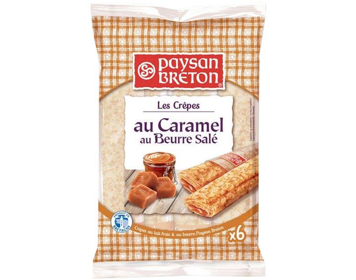 Crêpes Fourrées Caramel x6