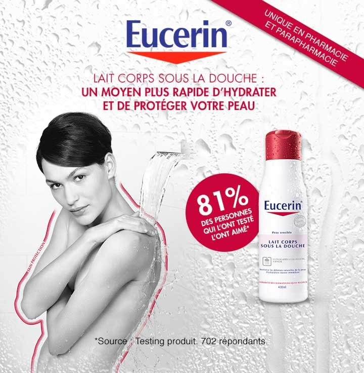 Shopmium eucerin lait corps sous la douche - Lait corps sous la douche ...