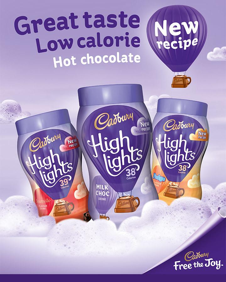 Cadbury Highlights Jars