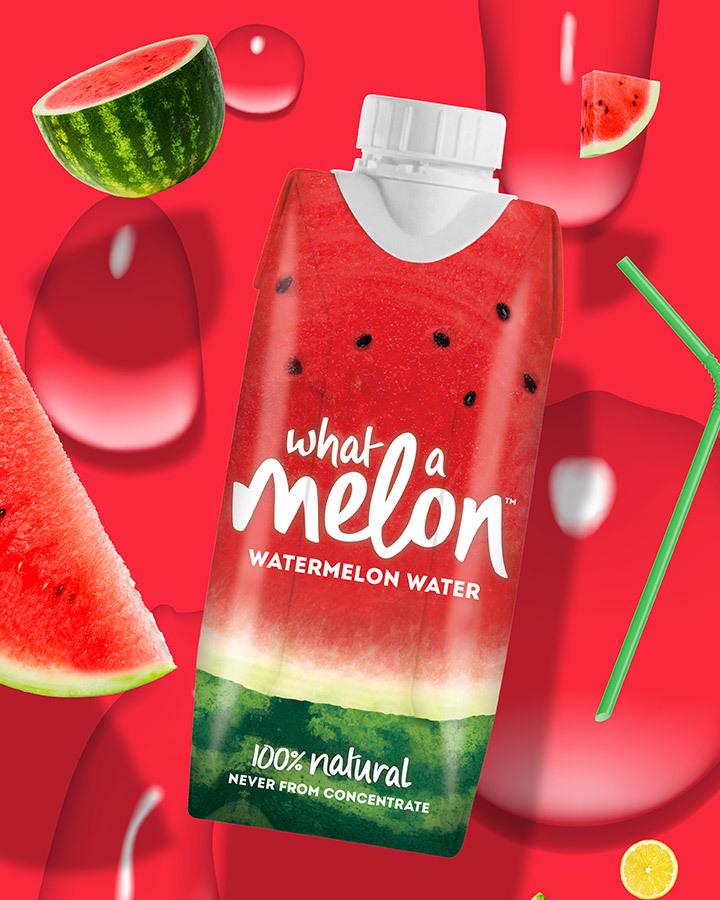 What A Melon watermelon water