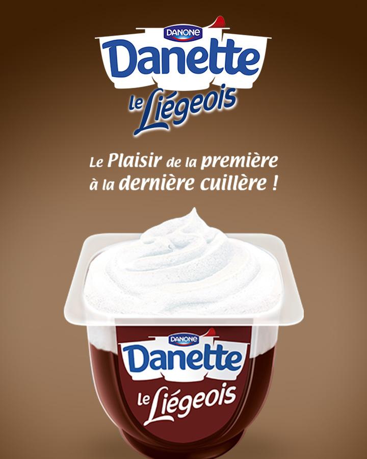 Danette le Liégeois