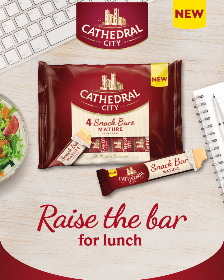 NEW Cathedral City Cheese Snack Bars