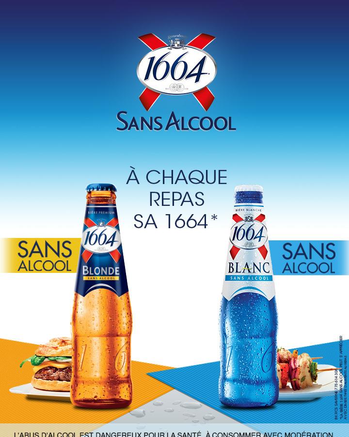 Bière Blanche 1664 Sans Alcool